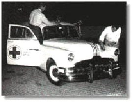 In 1951, the Virginia Beach Jaycees recognized the need for emergency services at the oceanfront area. They purchased an old Cadillac. They had it refurbished and established the very first Virginia Beach Ambulance.